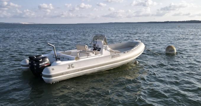 Huur Rubberboot met of zonder schipper Joker Boat in Grand Piquey
