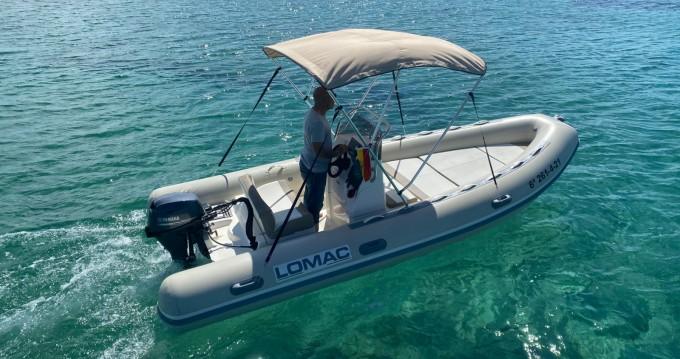 Bootverhuur Port d'Alcudia goedkoop Lomac 520 OK