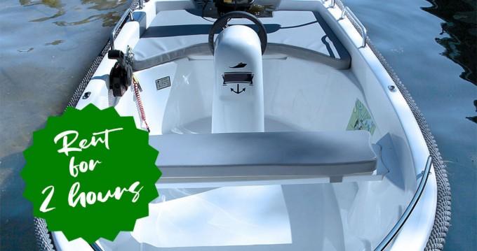 Verhuur Motorboot Alfa met vaarbewijs