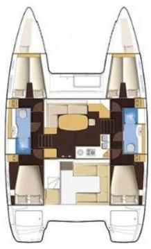 Bootverhuur Pula goedkoop Lagoon 400