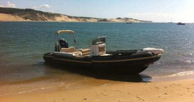 Verhuur Rubberboot in Port d'Arcachon - Joker Boat Clubman 22