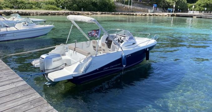 Huur Motorboot met of zonder schipper Jeanneau in Mandelieu-la-Napoule
