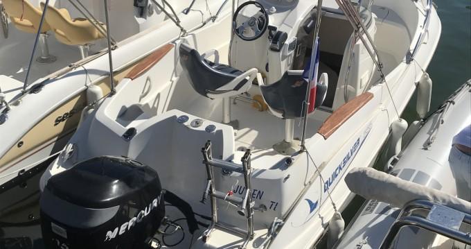 Jachthuur in Mandelieu-la-Napoule - Quicksilver Quicksilver 555 Commander via SamBoat