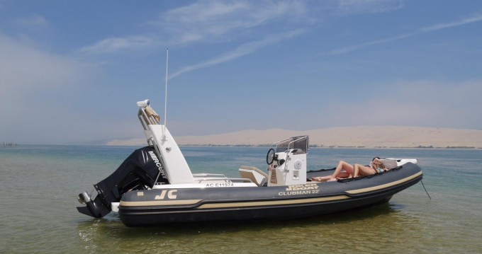 Huur een Joker Boat Clubman 22 in Port d'Arcachon