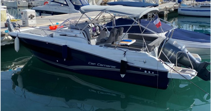 Bootverhuur Jeanneau Cap Camarat 7.5 WA Serie 2 in Antibes via SamBoat