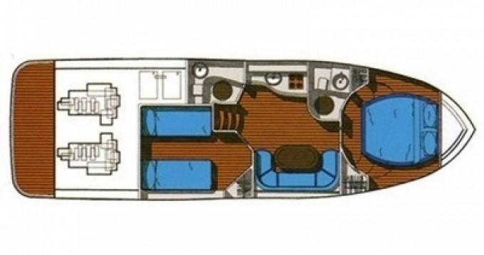 Huur een Wellcraft Portofino 4300 in Porto Pozzo