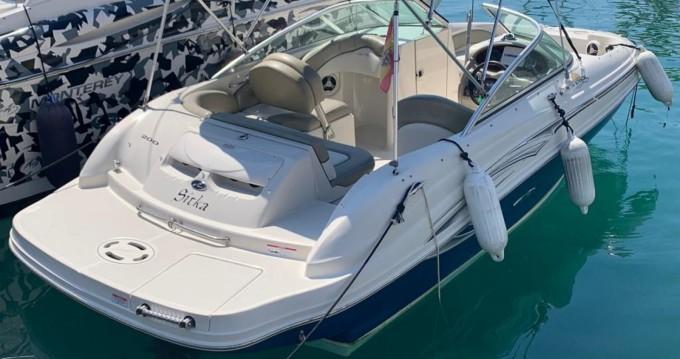 Bootverhuur Sea Ray 200 SD in Puerto Deportivo de Marbella via SamBoat