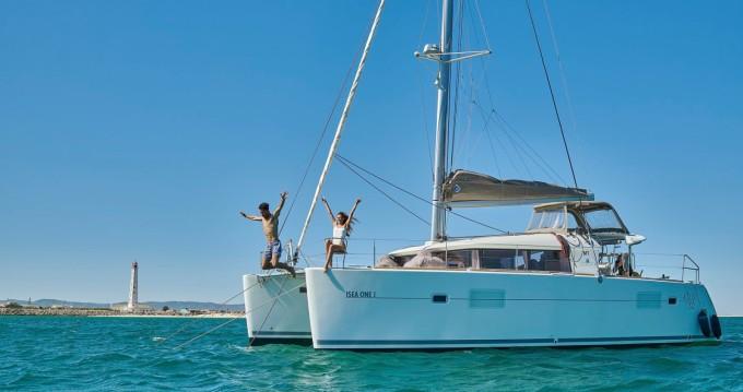 Huur Catamaran met of zonder schipper Lagoon in Faro