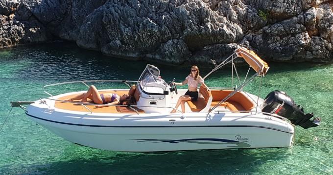 Huur Motorboot met of zonder schipper Ranieri in Tsilivi