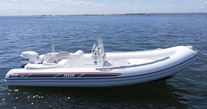 Huur Rubberboot met of zonder schipper Selva in Grand Piquey