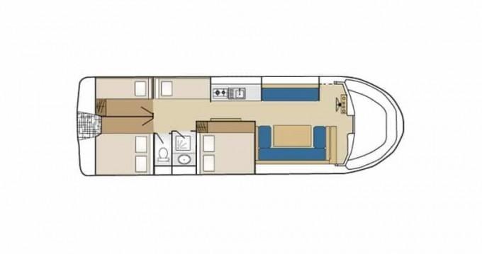 Huur Woonboot met of zonder schipper Low Cost in Cahors