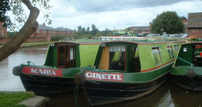 Verhuur Woonboot in Staffordshire - Classic Ginette