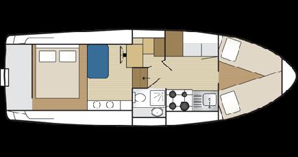 Verhuur Woonboot in Banagher - Classic Carlow Class