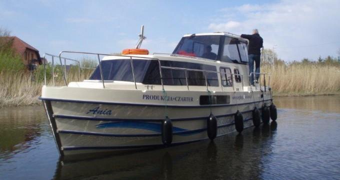 Bootverhuur Ślesin goedkoop Vistula Cruiser 30 SE