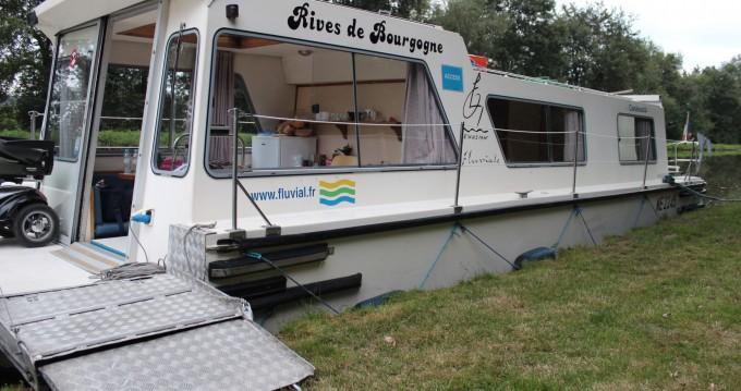 Verhuur Woonboot in Digoin - Access Espade 1230 Handy