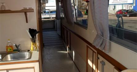 Huur Woonboot met of zonder schipper Access in Digoin