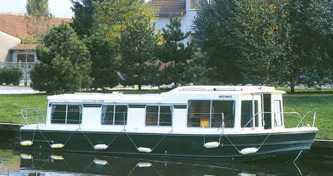 Verhuur Woonboot in Dom-le-Mesnil - Low Cost Eau Claire 1130