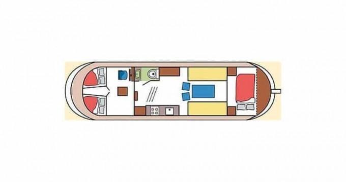 Huur Woonboot met of zonder schipper Classic in Saint-Nicolas des Eaux
