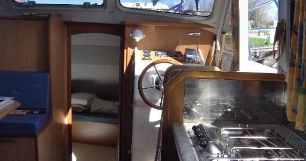 Verhuur Woonboot in Châtillon-en-Bazois - Classic Tarpon 32