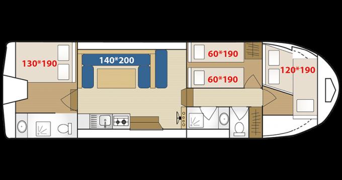 Bootverhuur Low Cost Riviera 1130 in Digoin via SamBoat
