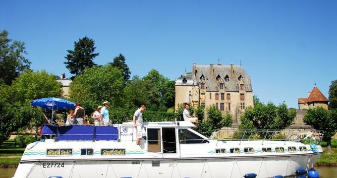 Huur Woonboot met of zonder schipper Premium in Châtillon-en-Bazois