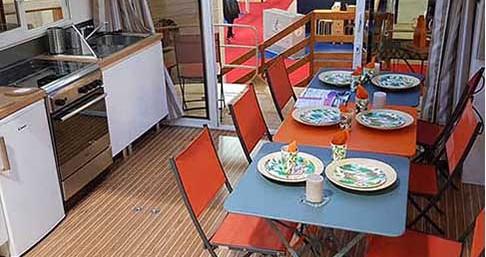 Verhuur Woonboot in Languimberg - Premium LaPeniche S