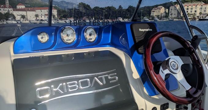 Okiboats Barracuda 545 Open te huur van particulier of professional in Makarska