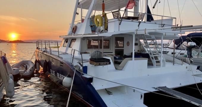 Huur Catamaran met of zonder schipper Tropic Composites in Porquerolles