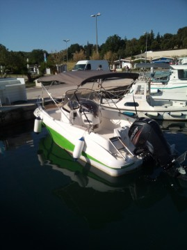 Verhuur Rubberboot in Vrsar - Quicksilver Commander 555