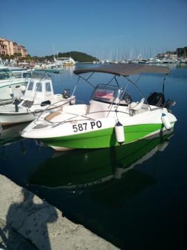 Verhuur Rubberboot Quicksilver met vaarbewijs