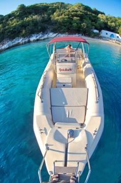 Verhuur Rubberboot Eagle met vaarbewijs