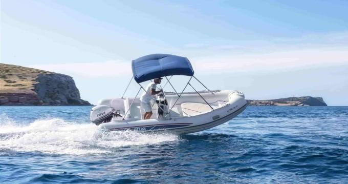 Bootverhuur Ibiza Town goedkoop Selva D470