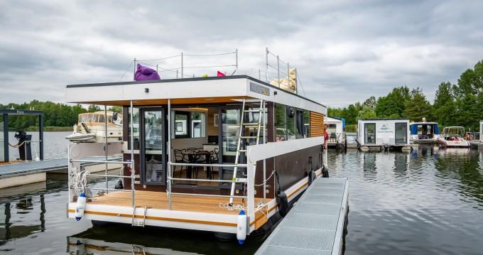 Bootverhuur Ponton Hausboot in Zehdenick via SamBoat