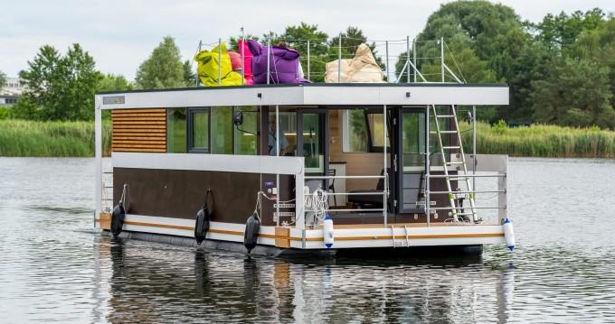 Ponton Hausboot te huur van particulier of professional in Zehdenick