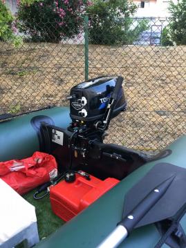 Verhuur Rubberboot X-ploder met vaarbewijs