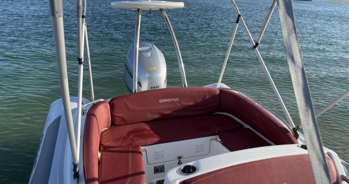 Grand Boats Golden Line G650LF te huur van particulier of professional in Cap Ferret