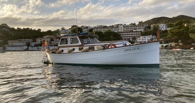 Verhuur Motorboot in Alcúdia - Mestre D'Aixa Curret Llaüt Artesanal