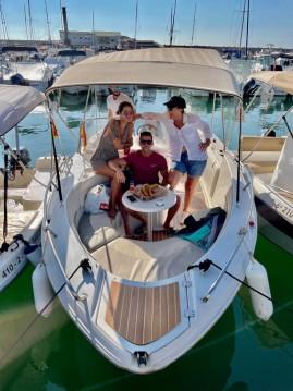 Verhuur Motorboot in Benalmádena - Quicksilver Quicksilver 600 Commander